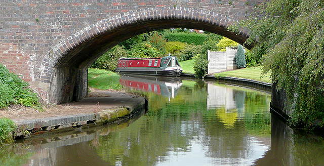 Staffordshire and Worcestershire Canal at Acton Bridge