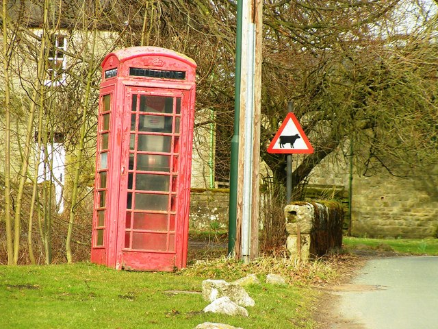 Phonebox at Ramsgill