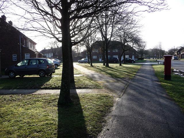St Nicholas Ave, corner of Highwood Road