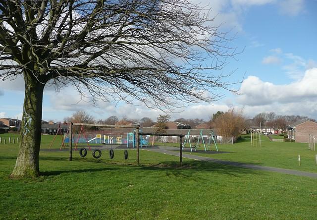 Playground off Burnsall Road, Rastrick