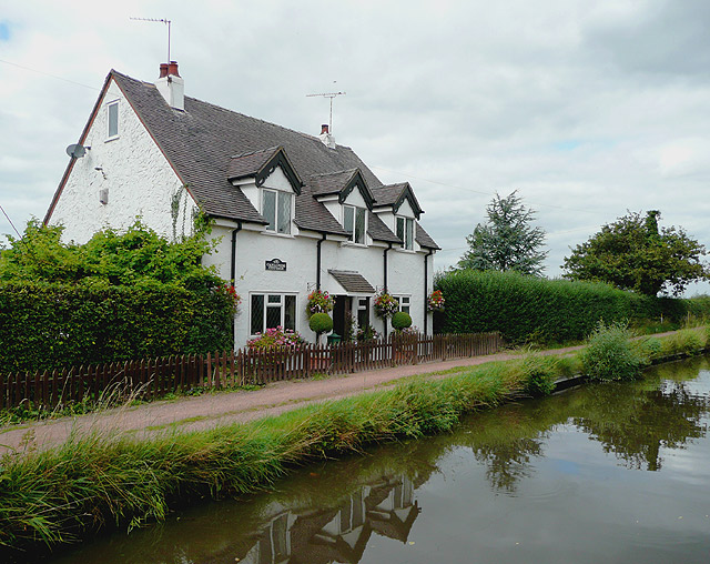 Canalside Cottage near Acton Trussell, Staffordshire