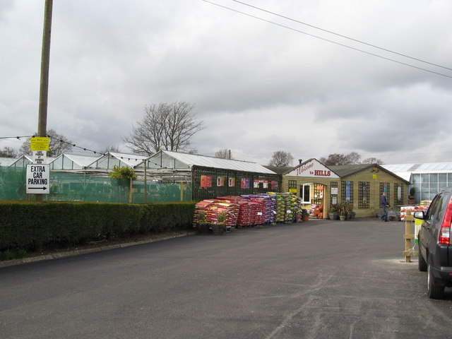 Hills Garden Centre - Entrance and Main Buildings