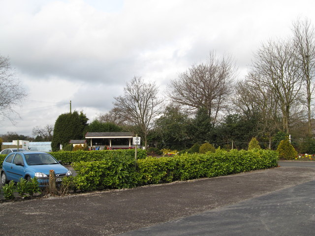 Hills Garden Centre - Car Park & Small Train Ride
