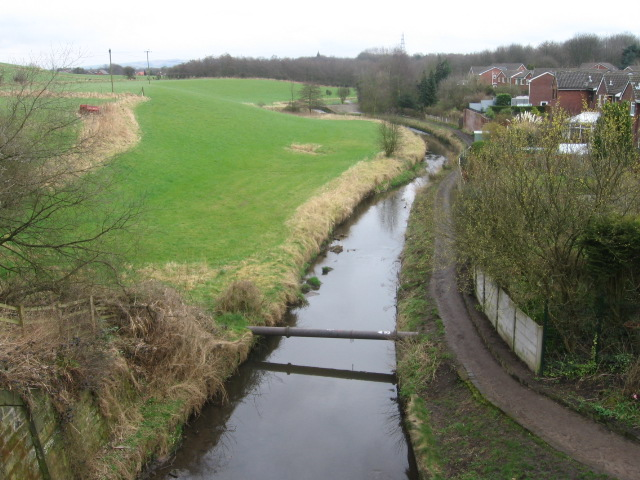 The River Irk at the Rochdale Canal