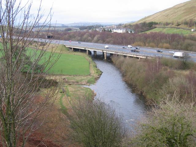 M6 bridge over River Lune
