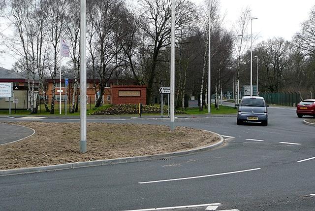 Entrance to Calleva Park
