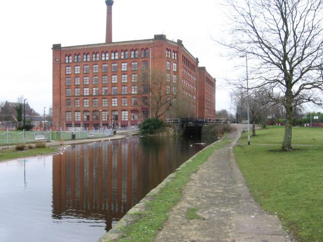 Rochdale Canal near Miles Platting