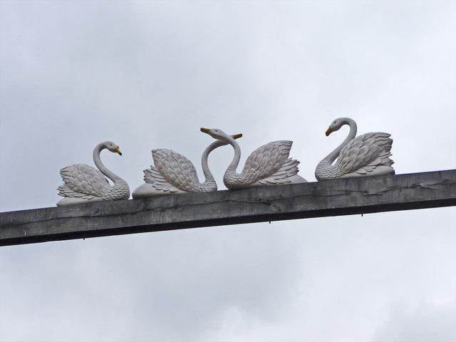 The Four Swans, Waltham Cross, Hertfordshire