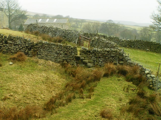 Stile near Stean