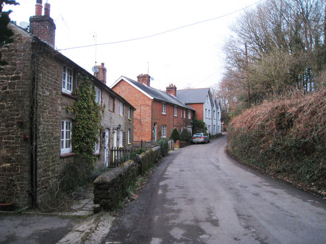 Houses on Tunbridge Lane, Bramshott
