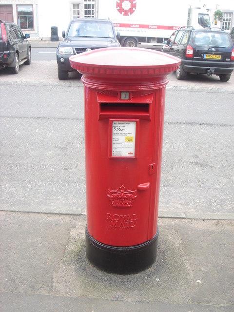 PB1053/1Sc Berwickshire, Market Place, High Street, Lauder Village PO