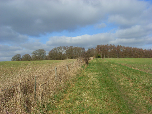 Farmland above Thatcham
