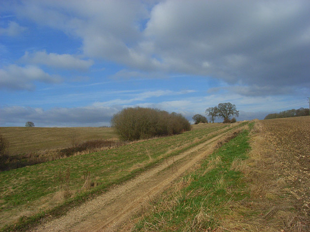 Footpath below Crookham