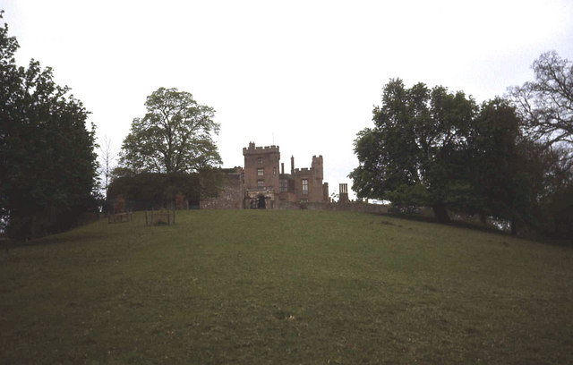 North side of Powis Castle