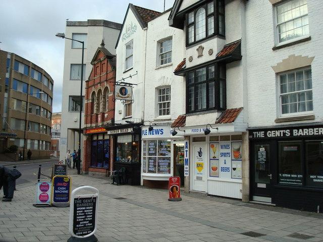 Shops, Victoria Street, Bristol