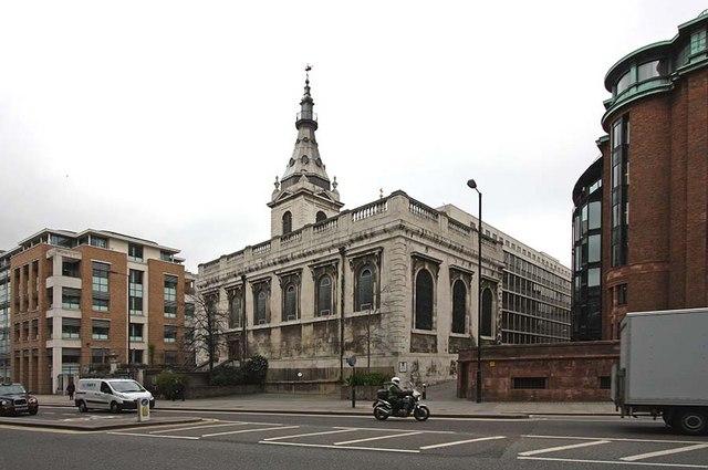 St Nicholas Cole Abbey, Queen Victoria Street, London EC4
