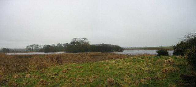 River Dee from bird hide