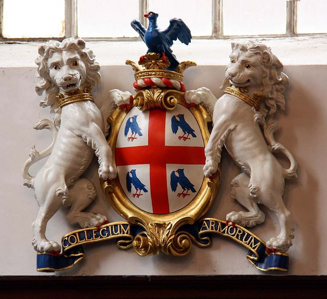 St Benet Paul's Wharf, Queen Victoria Street, London EC4 - Arms