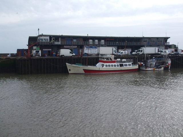 Bridlington Harbour fish dock