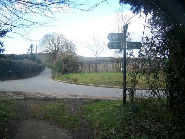 The Wealdway meets The Greensand Way