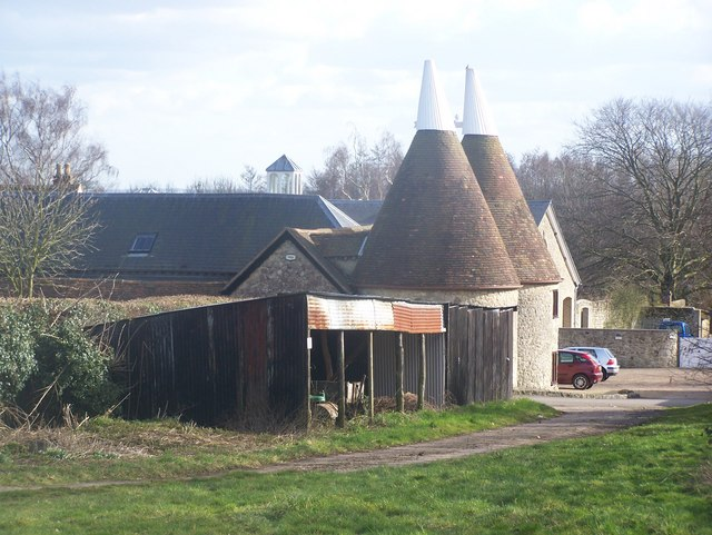 Court Lodge Farm Oast, West Peckham