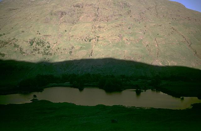 Lochan Urr reflecting Stob Dubh
