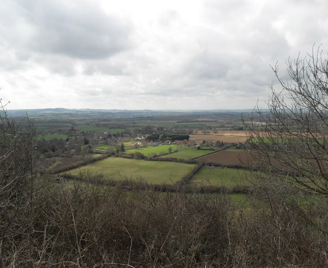 Norton Sub Hamdon from Ham Hill