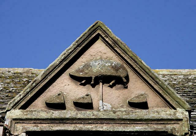 A detail at Swinton Kirk