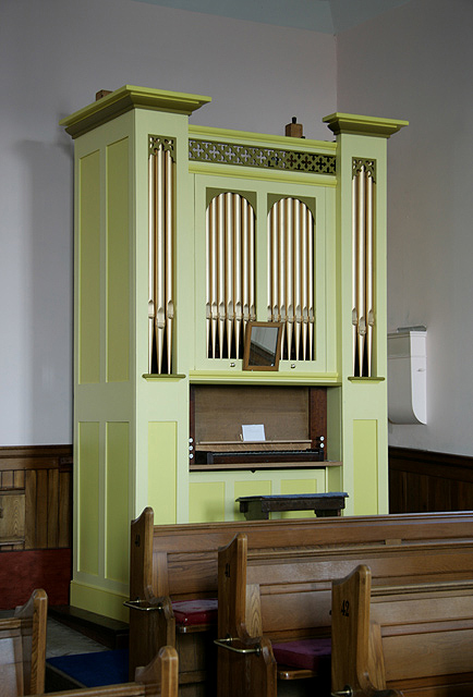 Swinton Kirk organ