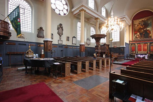 St James Garlickhythe, Garlick Hill, London EC4 - Interior