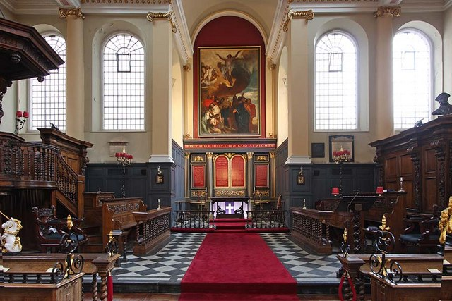 St James Garlickhythe, Garlick Hill, London EC4 - Chancel