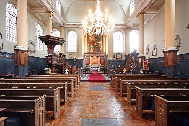 St James Garlickhythe, Garlick Hill, London EC4 - East end