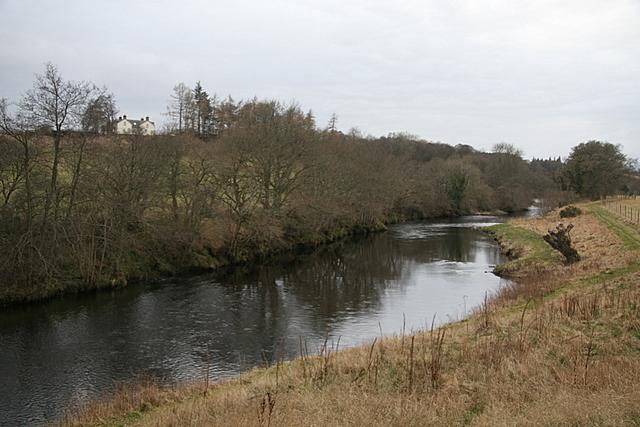 The South Esk near Cairn farm