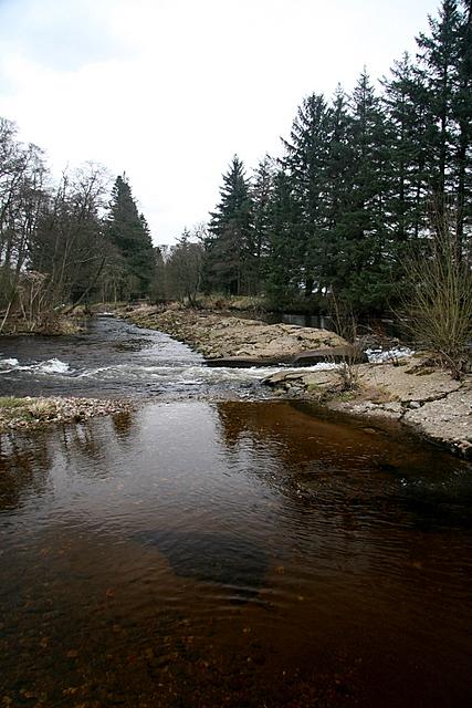 Weir, South Esk