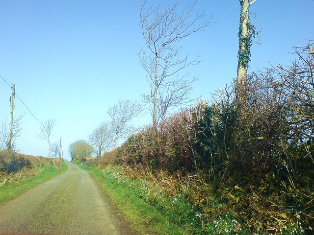 Lane to from Fern Hill to Clay Lane