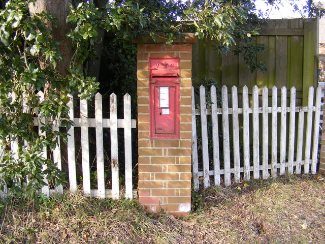 Four Crossways Victorian Postbox