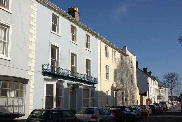 Ashburton House and Ireland House, Ashburton