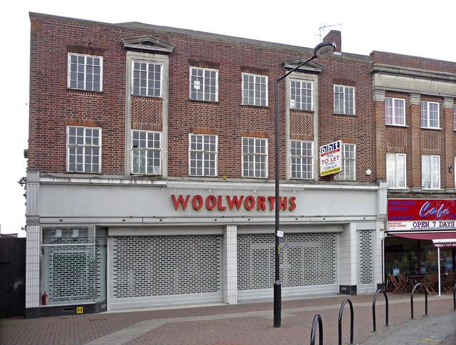 Woolworths, Waltham Cross, Hertfordshire