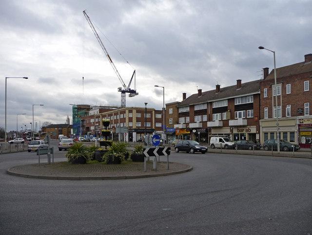Roundabout, Waltham Cross, Hertfordshire