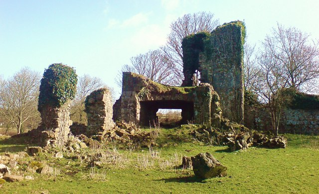 Haroldston House ruins