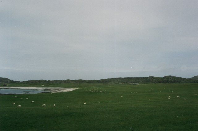 The Machair - or rough grazing - on Iona