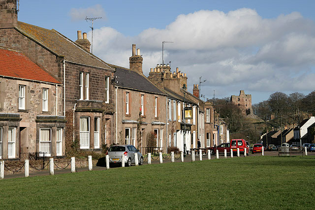 Houses at Cross View, Norham