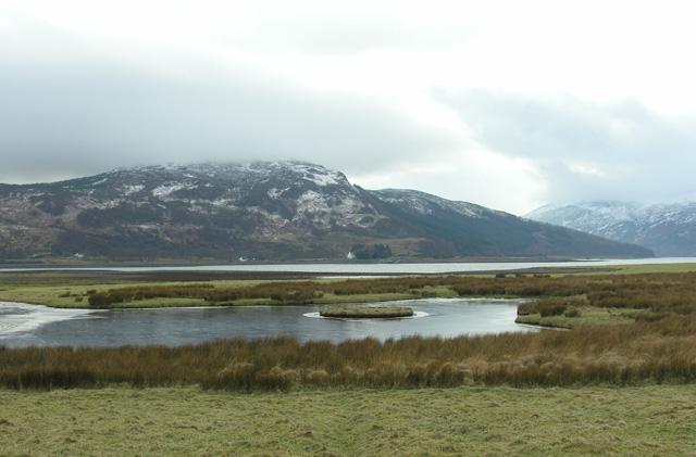 Looking west across Glas Eilean