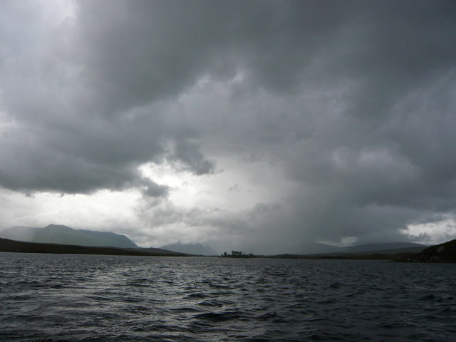 Middle of Loch Laidon