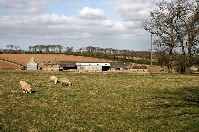 Our Ladykirk Farm Steading