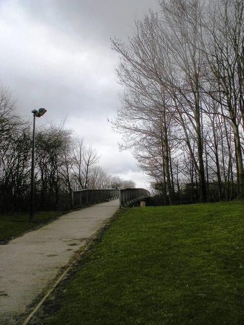 Hartshead Moor Services Footbridge