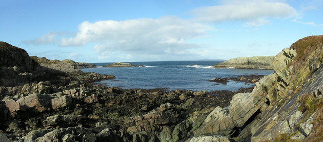 Looking north from Mor Eilean
