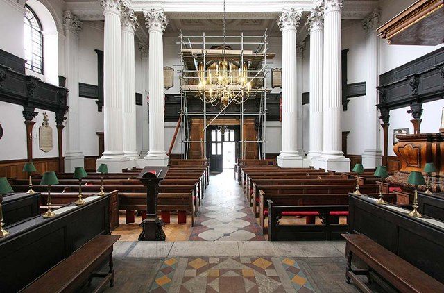 St Mary Woolnoth, Lombard Street, London EC3 - West end
