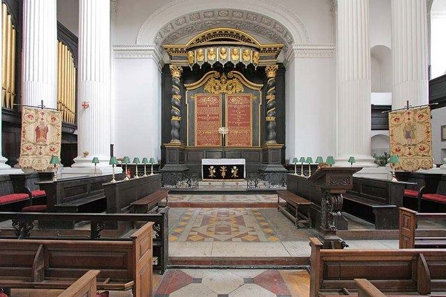 St Mary Woolnoth, Lombard Street, London EC3 - Chancel