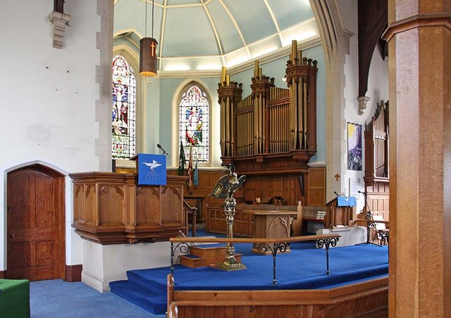 Trinity Church, Church Street, Enfield - Chancel
